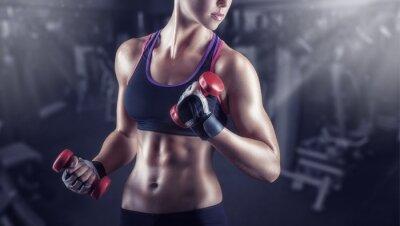 Plakat Athletic girl