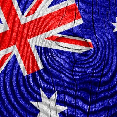 Plakat Australia flag