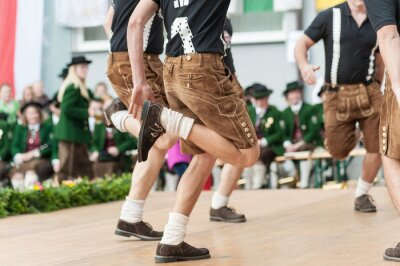 Plakat Austria taniec ludowy