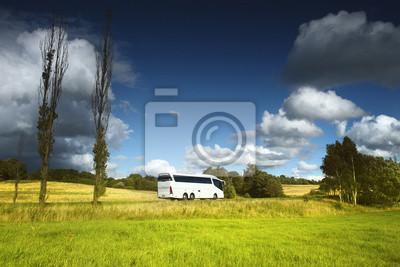 Autobus na drodze