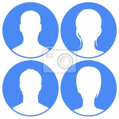Avatar zestaw niebieski