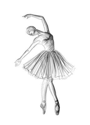 Plakat Balerina