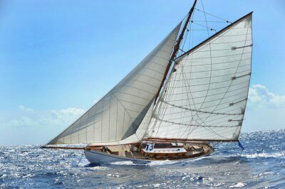Plakat Barca vela