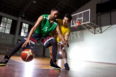 Plakat Basketbal player in the game