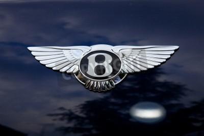 Plakat Bentley emblemat - poza shoting