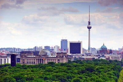 Plakat berlin pejzaż