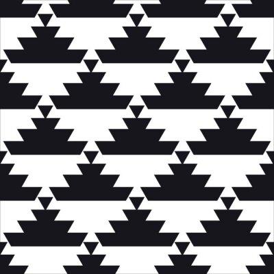 Plakat bez szwu geometryczny wzór