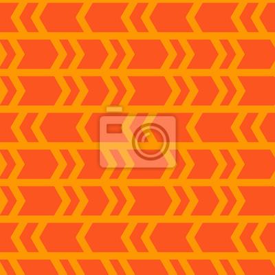 bez szwu wzór, abstrakt, geometryczne pomarańczowym tle