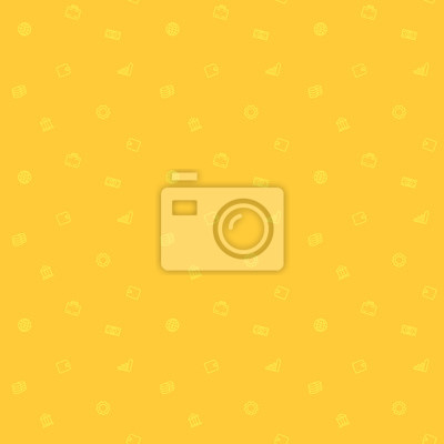 bez szwu wzór, finanse, pieniądze, biznes, minimalistyczne tło w kolorze żółtym