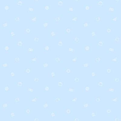 bez szwu wzór, finanse, pieniądze, jasnoniebieskim tle, ilustracji wektorowych