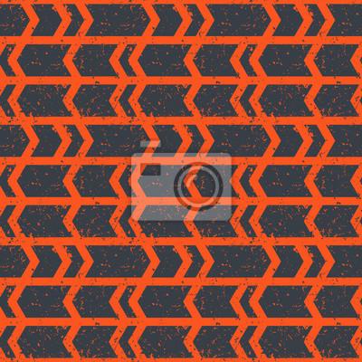 bez szwu wzór, pomarańcza abstrakt na szarym