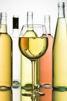 Plakat białe wino