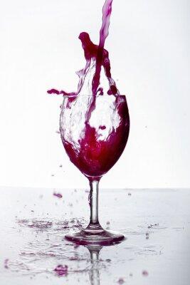 Plakat Bicchiere di Vino