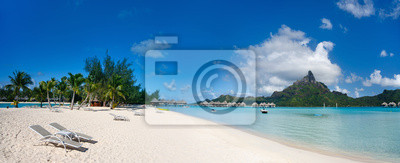 Plakat Bora Bora krajobraz
