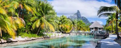 Plakat Bora Bora, panorama