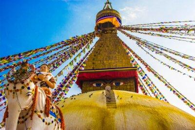 Plakat Bouddhanath Stupa, Katmandu, Nepal