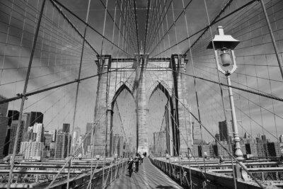 Plakat Brooklyn Bridge, New York