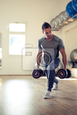 Plakat Budowa jego biceps