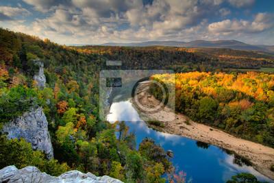 Plakat Buffalo National River z góry
