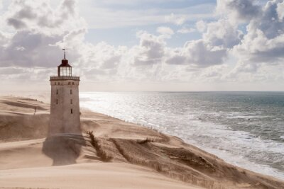 Plakat Burza piaskowa w The Lighthouse