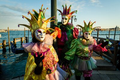 Plakat Carnevale di Venezia Maschera