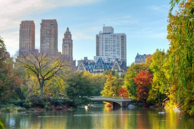 Plakat Central Park in Fall
