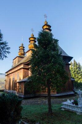 Plakat Cerkiew - Wisłok Wielki