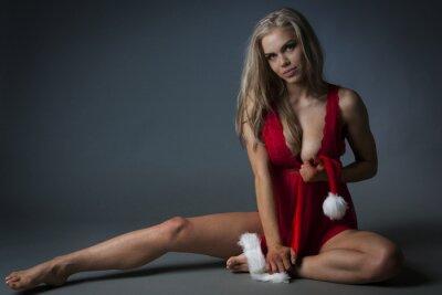 Plakat Christmas Girl