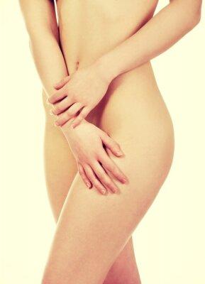 Plakat Ciało pięknej kobiety.