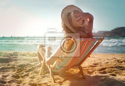 Plakat Ciepło i słońce