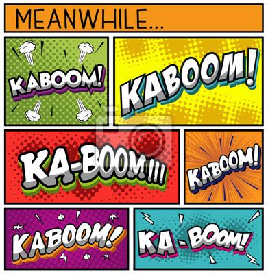 Plakat Comic Book Collection-KABOOM