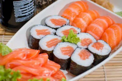 Plakat comida japonesa