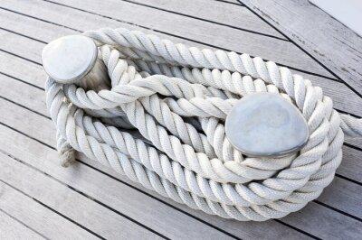 Plakat Corda legata ad una barca