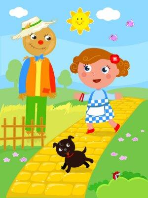 Plakat Cudowny czarodziej z Oz 02 The Scarecrow