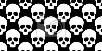 Czaszka bez szwu deseń kości Halloween duch twarz gotycka samodzielnie tapety tła