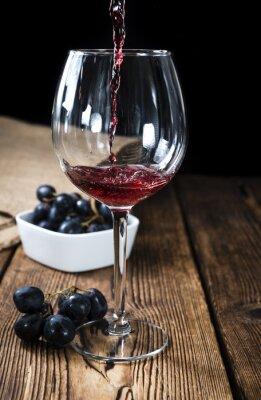 Plakat Czerwone wino
