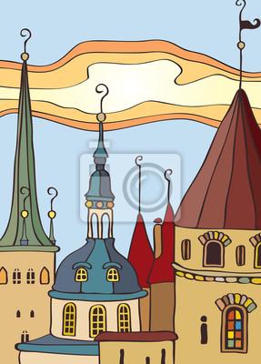 dach starego miasta