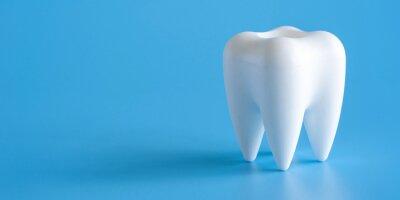 Plakat Dental koncepcji zdrowego wyposażenia narzędzi opieki stomatologicznej Profesjonalny baner