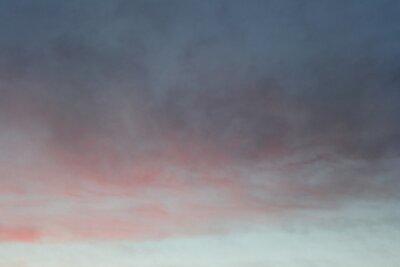 Plakat disturbing dramatic sky at sunset