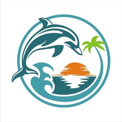 Plakat Dolphin BEACH