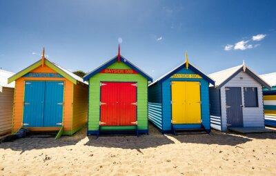 Plakat Domy Brighton Bay Beach