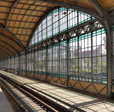 Plakat Dworzec Kolejowy we Wrocławiu, Polska