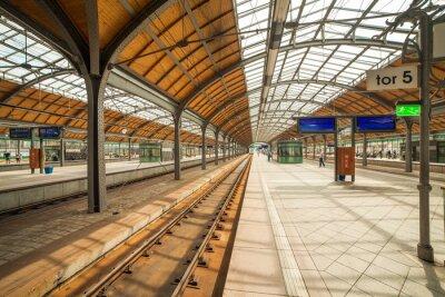 Plakat Dworzec kolejowy Wrocław