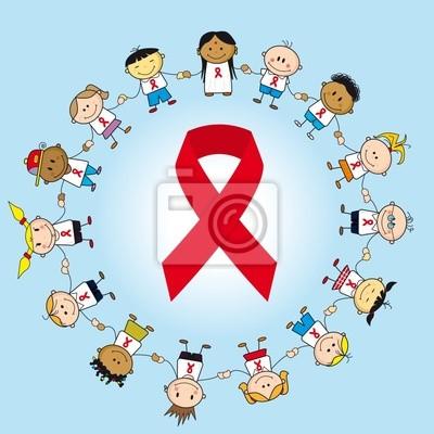 Plakat Dzień Walki Z Aids