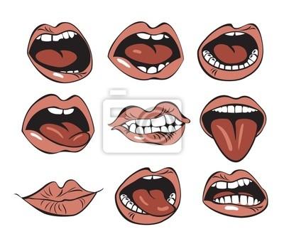 dziewięć usta