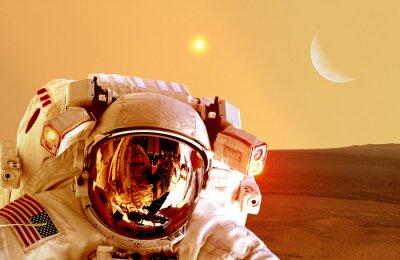 Plakat Elementy tego zdjęcia dostarczone przez NASA.