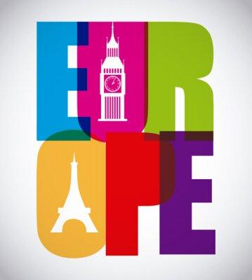 Plakat Europa projekt