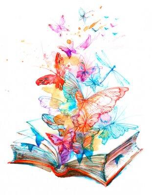 Plakat Fairy Book
