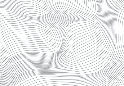 Plakat Falisty wektorowy tło