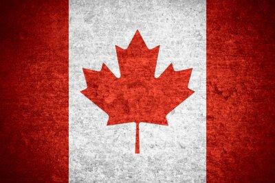 Plakat Flaga Kanady